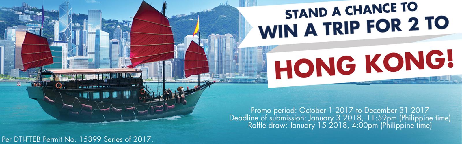 Hongkong Raffle Trip