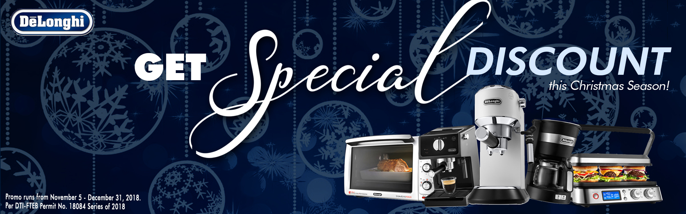 GET SPECIAL DISCOUNT THIS CHRISTMAS SEASON!